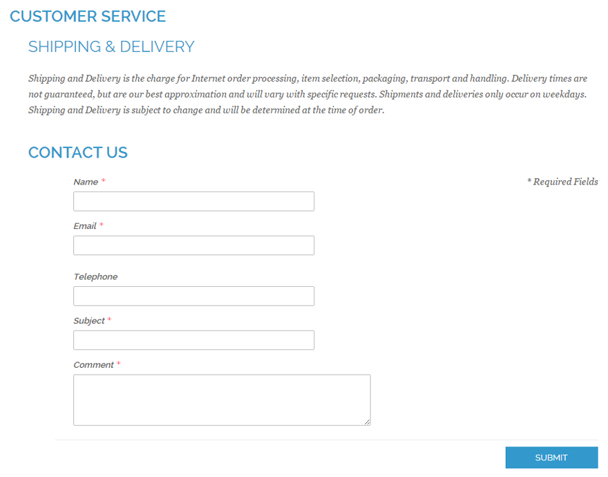Customizing the Magento Contact Form, Part 3: Front-end Display ...