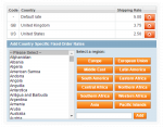 magento fixed order shipping rates