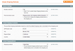 magento simple shipping estimate settings