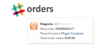 magento order notifications in slack