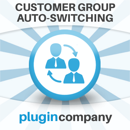 Magento Automatic Customer Group Switching Extension icon