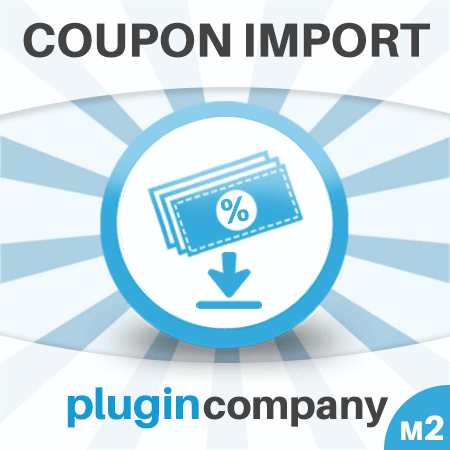Magento 2 Coupon Import Extension icon