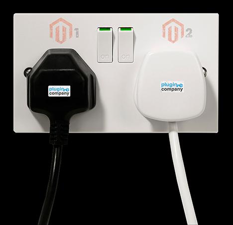 Magento plug play wall socket